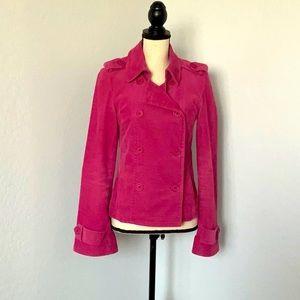 Juicy Couture Pink Corduroy Blazer Jacket M